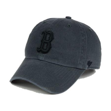 Boston Red Sox '47 MLB Charcoal Black '47 CLEAN UP Cap