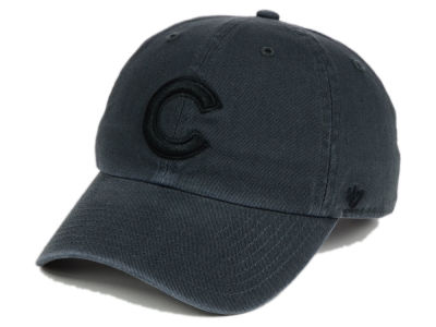 Chicago Cubs '47 MLB Charcoal Black '47 CLEAN UP Cap