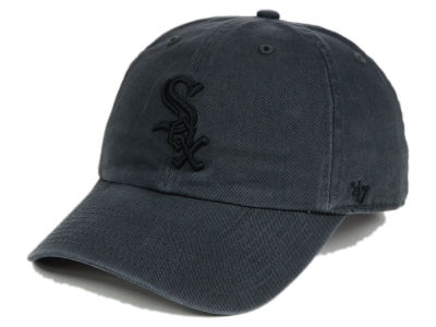 Chicago White Sox '47 MLB Charcoal Black '47 CLEAN UP Cap