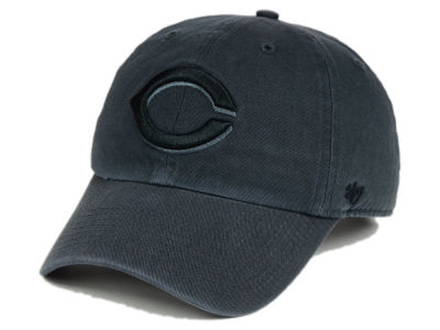 Cincinnati Reds '47 MLB Charcoal Black '47 CLEAN UP Cap