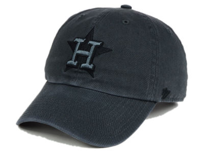 Houston Astros '47 MLB Charcoal Black '47 CLEAN UP Cap