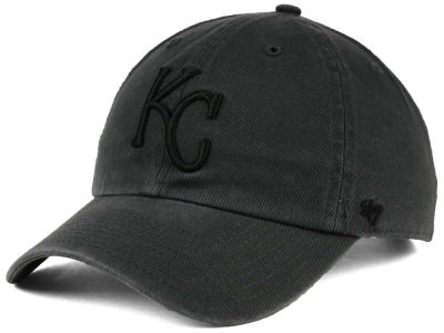 Kansas City Royals '47 MLB Charcoal Black '47 CLEAN UP Cap
