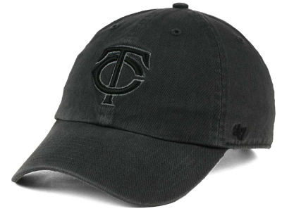 Minnesota Twins '47 MLB Charcoal Black '47 CLEAN UP Cap