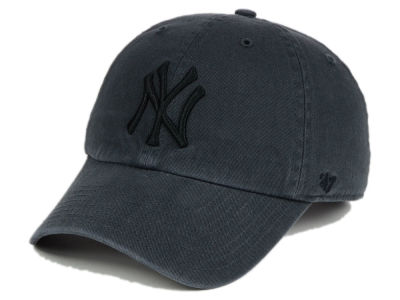 New York Yankees '47 MLB Charcoal Black '47 CLEAN UP Cap
