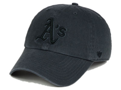 Oakland Athletics '47 MLB Charcoal Black '47 CLEAN UP Cap