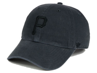 Pittsburgh Pirates '47 MLB Charcoal Black '47 CLEAN UP Cap