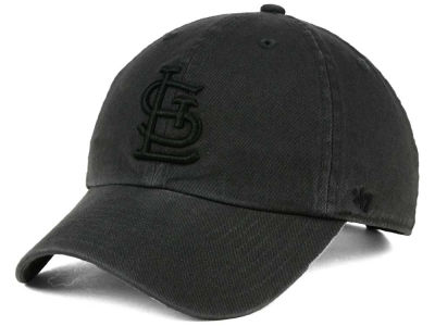 St. Louis Cardinals '47 MLB Charcoal Black '47 CLEAN UP Cap