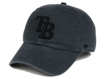 Tampa Bay Rays '47 MLB Charcoal Black '47 CLEAN UP Cap