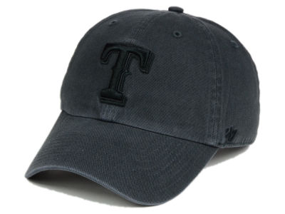 Texas Rangers '47 MLB Charcoal Black '47 CLEAN UP Cap