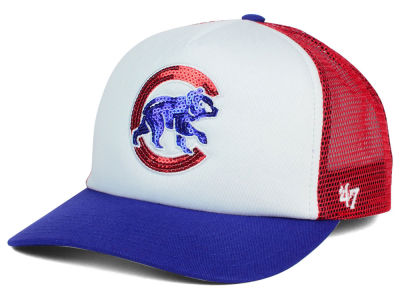 Chicago Cubs '47 MLB Glimmer '47 Captain Snapback Cap