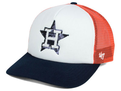 Houston Astros '47 MLB Glimmer '47 Captain Snapback Cap