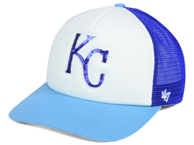 Kansas City Royals '47 MLB Glimmer '47 Captain Snapback Cap