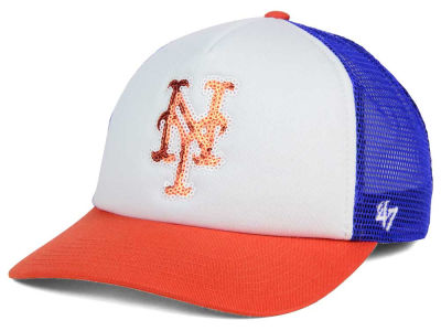 New York Mets '47 MLB Glimmer '47 Captain Snapback Cap
