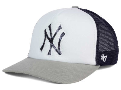 New York Yankees '47 MLB Glimmer '47 Captain Snapback Cap
