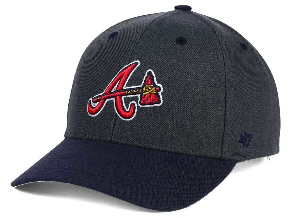 premium selection ff8a8 fd6b4 ... ireland atlanta braves 47 mlb kids audible 47 mvp cap 9e464 08417