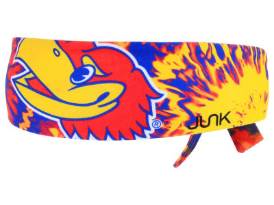 Kansas Jayhawks Junk Brands NCAA Flex Tie Headband