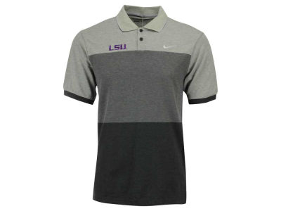 LSU Tigers Nike Golf NCAA Men's Transition Block Polo