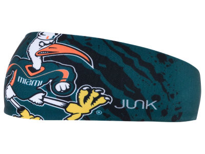 Miami Hurricanes Junk Brands NCAA Infinity Headband