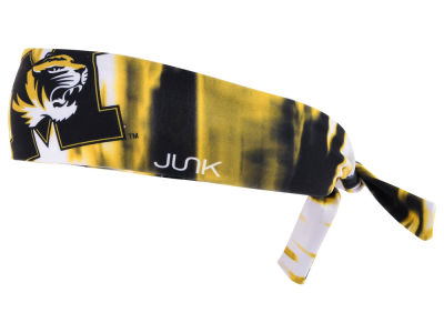 Missouri Tigers Junk Brands NCAA Flex Tie Headband
