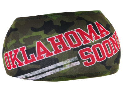 Oklahoma Sooners Junk Brands NCAA Big Bang Lite Headband