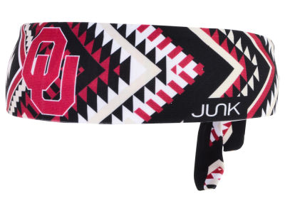 Oklahoma Sooners Junk Brands NCAA Flex Tie Headband