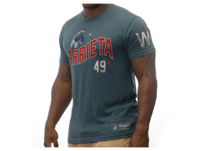 Chicago Cubs Jake Arrieta MLB Men's Player W T-Shirt