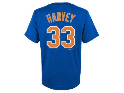 New York Mets Matt Harvey MLB Kids Official Player T-Shirt