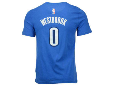 Oklahoma City Thunder Russell Westbrook NBA Youth Name And Number T-Shirt