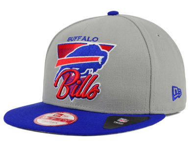 Buffalo Bills New Era NFL Chase Gray 2 Tone 9FIFTY Snapback Cap