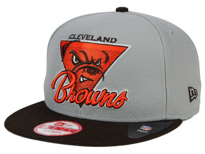 Cleveland Browns New Era NFL Chase Gray 2 Tone 9FIFTY Snapback Cap