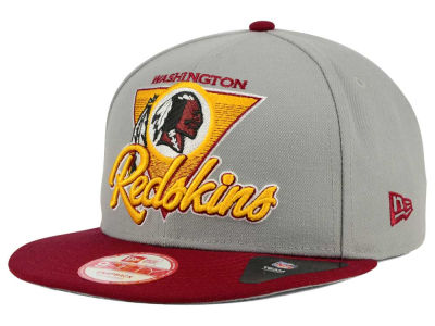 Washington Redskins New Era NFL Chase Gray 2 Tone 9FIFTY Snapback Cap