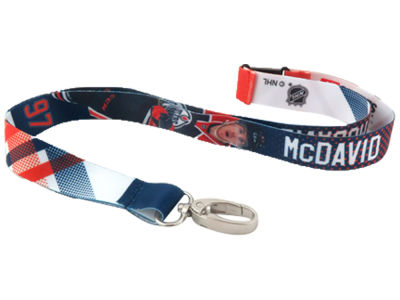 Edmonton Oilers Connor McDavid NHL Player Lanyard