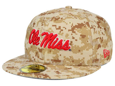 Ole Miss Rebels New Era NCAA AC 59FIFTY Cap