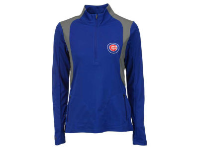 Chicago Cubs MLB Women's Delta Pullover Shirt