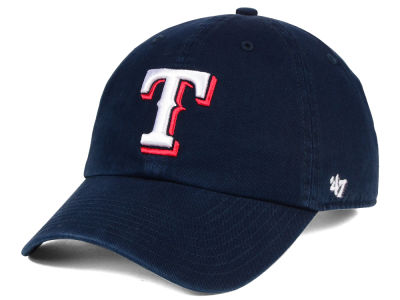 Texas Rangers '47 MLB Core '47 CLEAN UP Cap