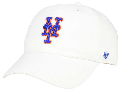 New York Mets '47 MLB White '47 CLEAN UP Cap