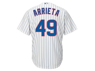 Chicago Cubs Jake Arrieta MLB Youth Player Replica Cool Base Jersey