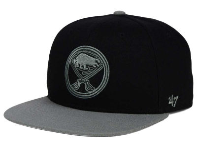 Buffalo Sabres '47 NHL Black on Gray 2 Tone '47 CAPTAIN Cap