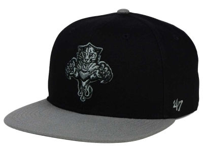 Florida Panthers '47 NHL Black on Gray 2 Tone '47 CAPTAIN Cap