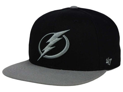 Tampa Bay Lightning '47 NHL Black on Gray 2 Tone '47 CAPTAIN Cap