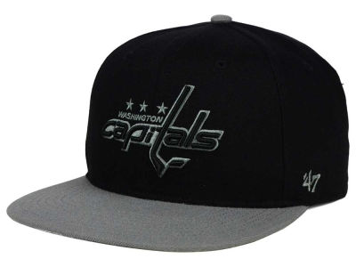 Washington Capitals '47 NHL Black on Gray 2 Tone '47 CAPTAIN Cap
