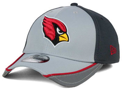 Arizona Cardinals New Era NFL Chase Gray Reflective 39THIRTY Cap