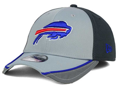 Buffalo Bills New Era NFL Chase Gray Reflective 39THIRTY Cap