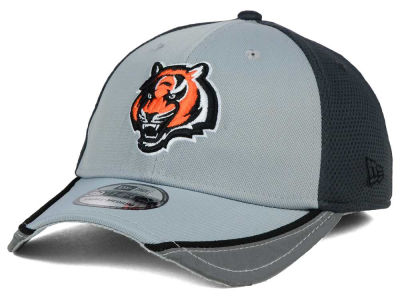 Cincinnati Bengals New Era NFL Chase Gray Reflective 39THIRTY Cap