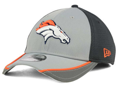 Denver Broncos New Era NFL Chase Gray Reflective 39THIRTY Cap