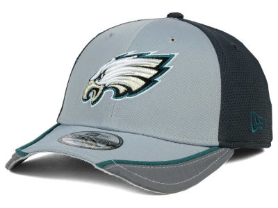Philadelphia Eagles New Era NFL Chase Gray Reflective 39THIRTY Cap