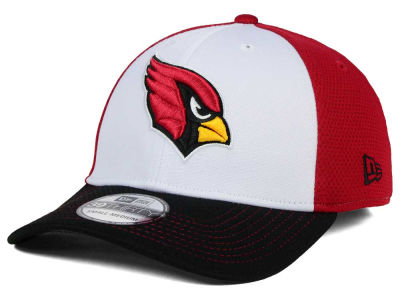 Arizona Cardinals New Era NFL Chase White Front Mesh 39THIRTY Cap