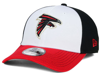 Atlanta Falcons New Era NFL Chase White Front Mesh 39THIRTY Cap