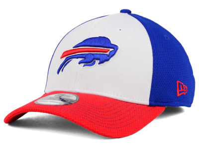 Buffalo Bills New Era NFL Chase White Front Mesh 39THIRTY Cap