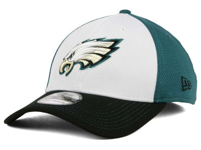 Philadelphia Eagles New Era NFL Chase White Front Mesh 39THIRTY Cap